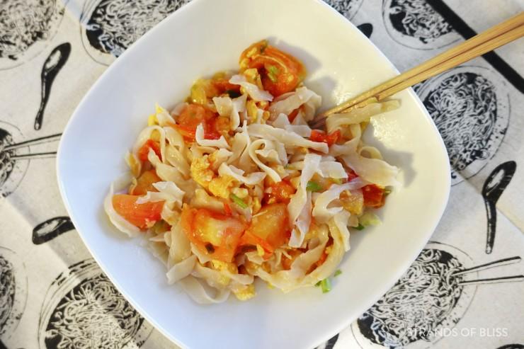 tomato egg noodle_dish 2