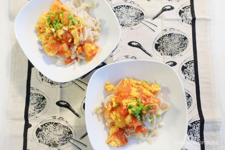 tomato egg noodle_dish